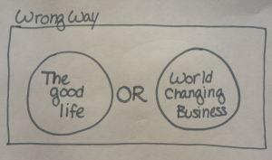 Wrong way_good life_or_business