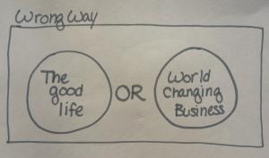 Wrong way_good life_or_business