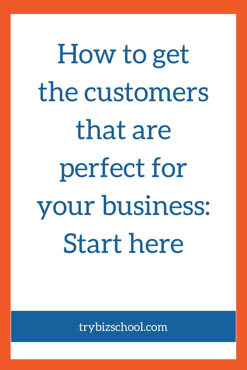 Ever struggle with how to get the customers you want in your business? It's a challenge many entrepreneurs have experienced. And as a result, it's brought lots of frustration as they worked to build a base of loyal customers. In this post, I show you the foundational steps you need to take to ensure you get the customers you want, and keep them coming back to you again and again.
