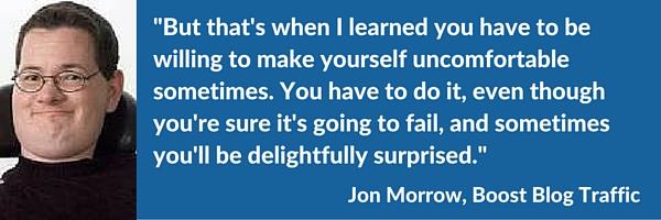Jon Morrow snippet