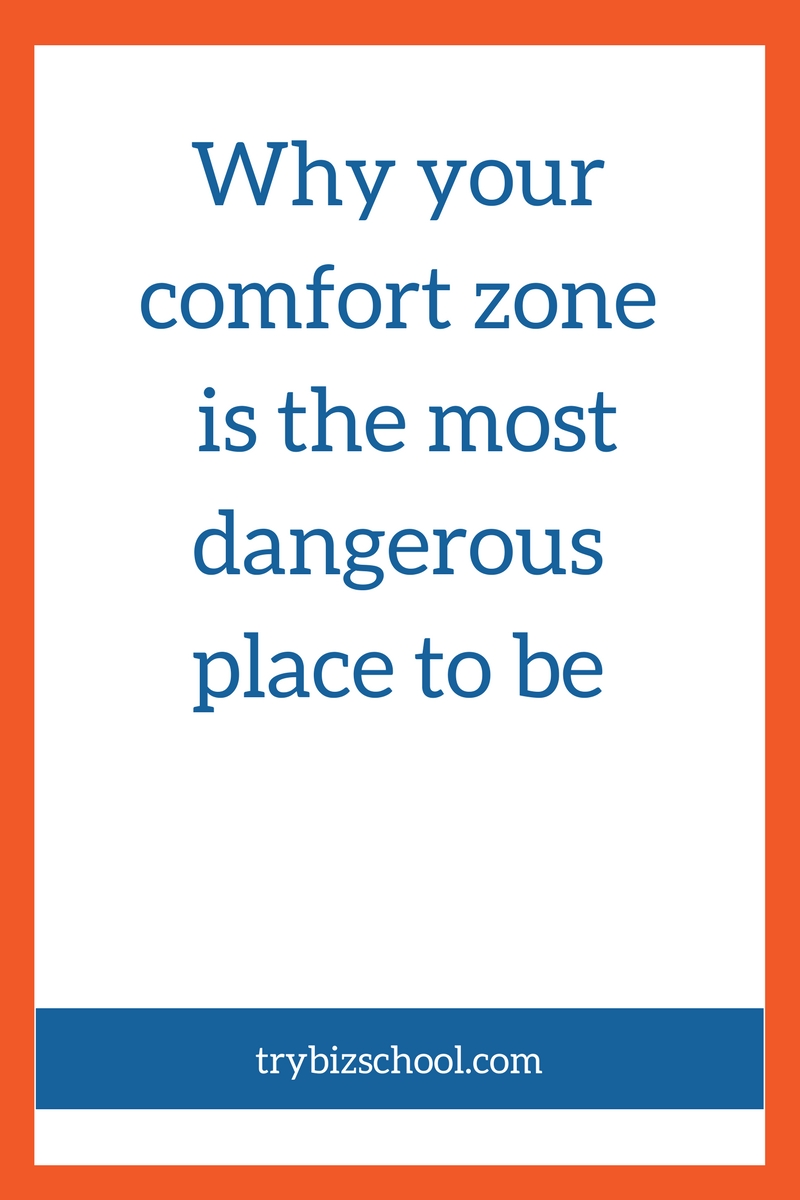 Do you like to hang out in your comfort zone? It may seem safe, but if you stay there too long, you'll end up settling for a business and life that's less than you're capable of. Find out why, and get steps to take to get comfortable with being uncomfortable.