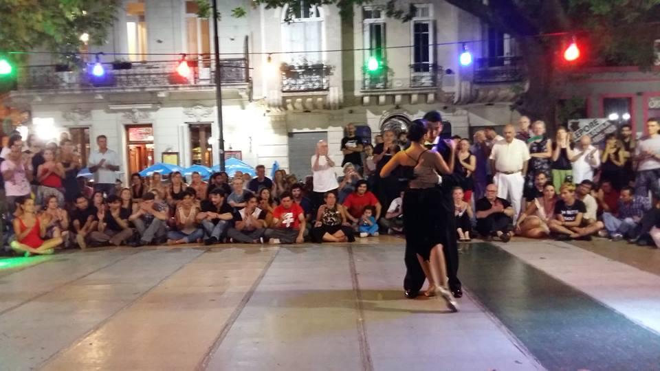 Tango exhibition