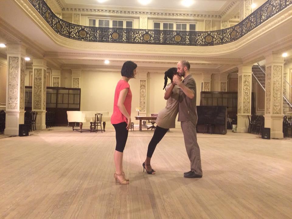 Sonia tango lesson