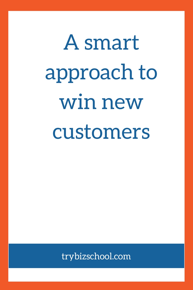 A smart approach to win new customers