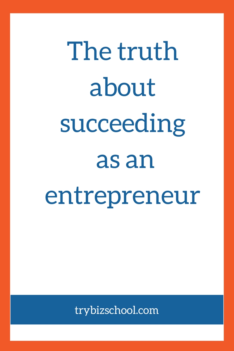 Have you ever wondered about how to succeed as an entrepreneur? It's not just about the health of your business. There are other factors that play a major role as well. This post explains.
