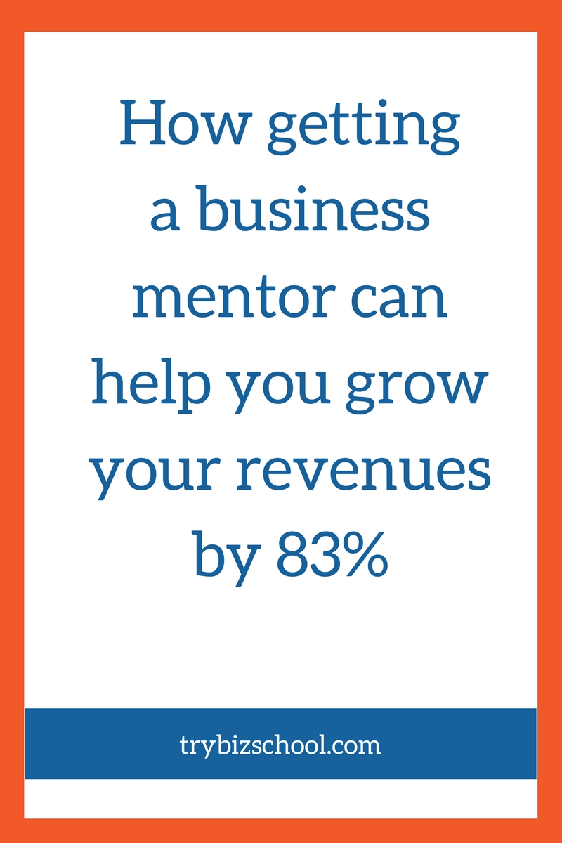 The data is in. Entrepreneurs who work with a mentor grow faster than those that don't. Find out how a business mentor can help you grow your business.