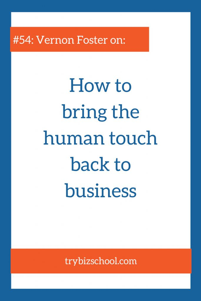 Has operating a business ever felt like it was just a series of transactions? If so, check out this episode to learn how to put the human touch in business.