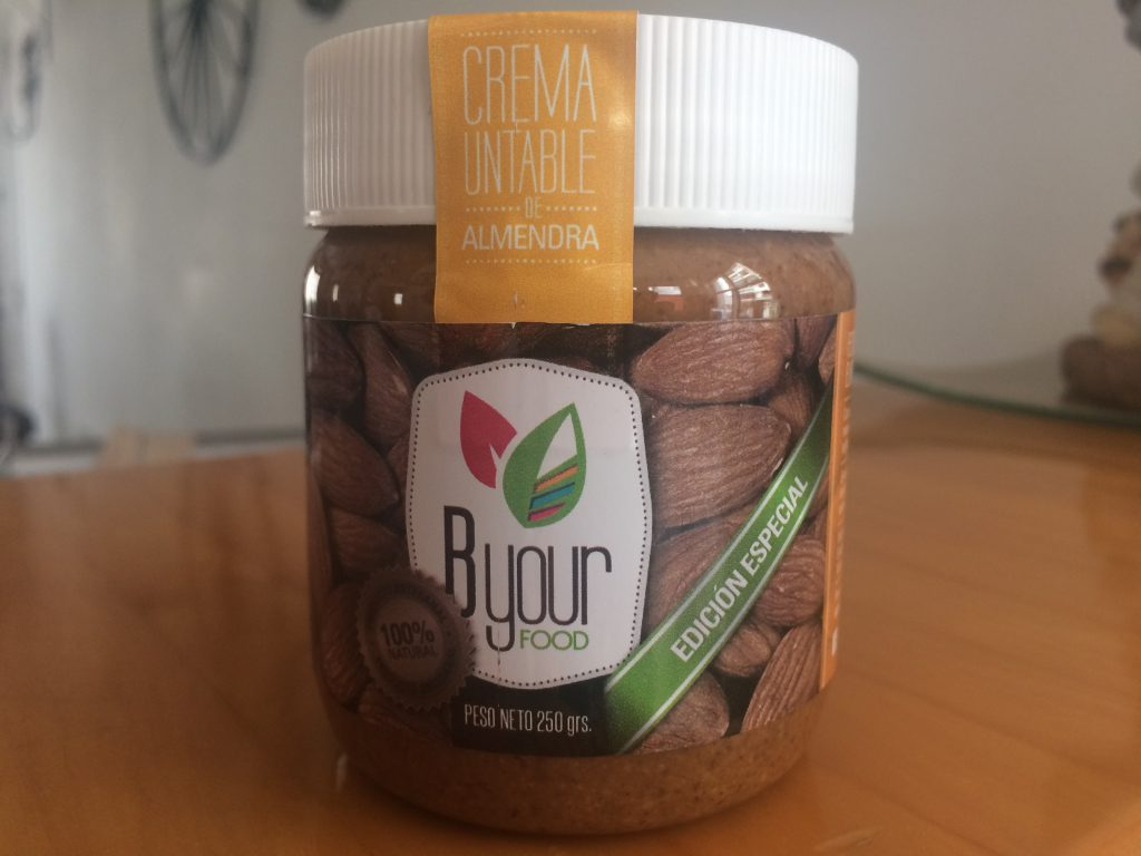 Lead generation the smart way - make your competition irrelevant. This brand is the ONLY one I know of that makes almond butter in Argentina.