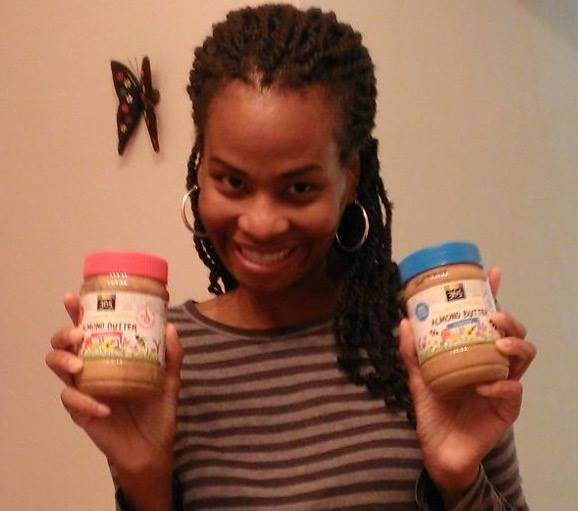 Sonia gets almond butter!