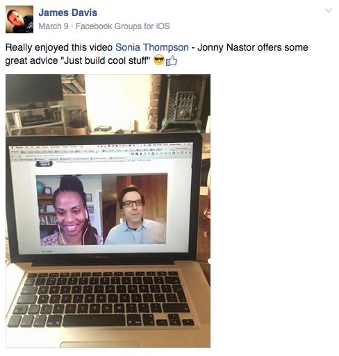 James Davis - loved Jon Nastor interview