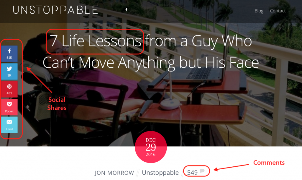 Jon Morrow engineered his blog post to go viral from the beginning.