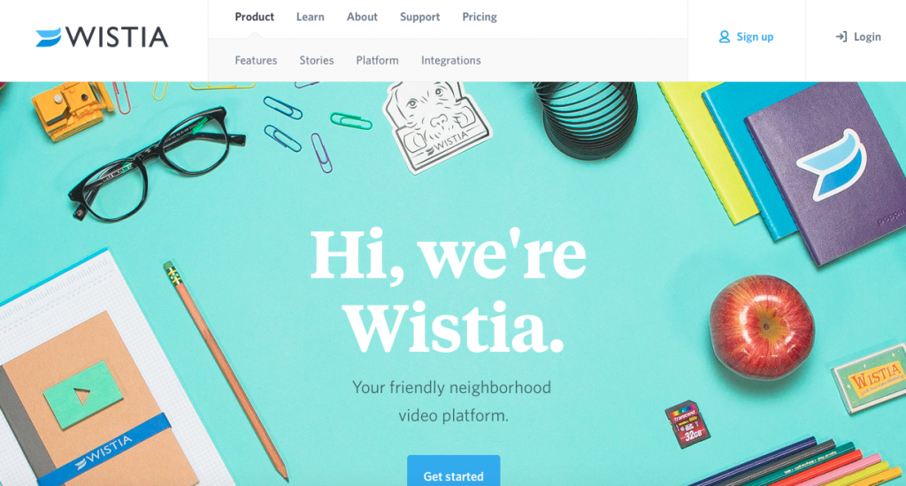 Wistia video hosting