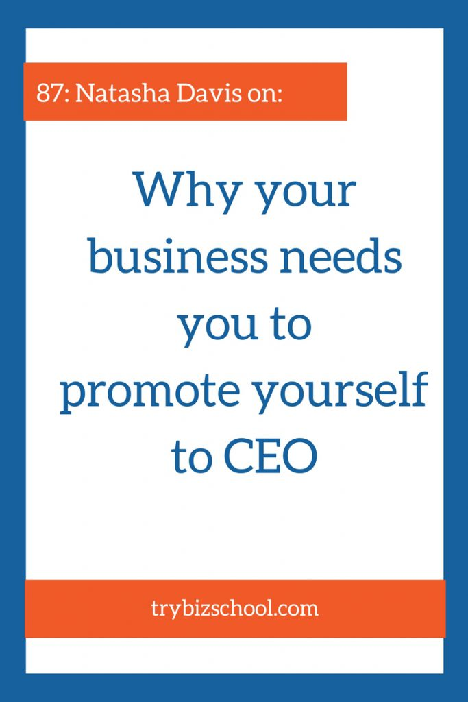 Entrepreneurs: You are the CEO of your business. Are you acting like it?