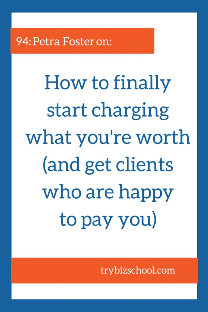 Entrepreneurs - Are you charging enough for your services? Here's how to finally start charging what you're worth , AND find the clients who are more than willing to pay you for your expertise.