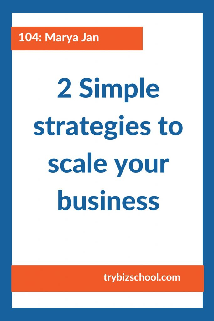 Entrepreneurs - there comes a time in your business when you will need to figure out how you will be able to do more with spending more of your time. Here are 2 smart ways to scale your business.