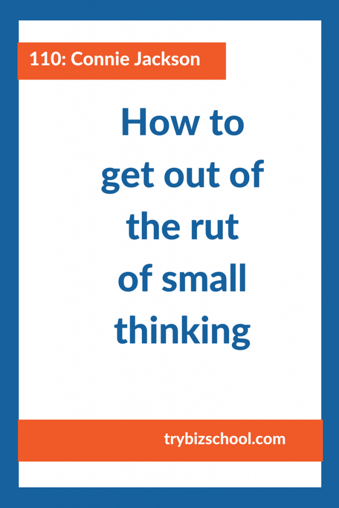 Entrepreneurs: To build a business that makes a big impact, you've got to stop thinking small (which is way too easy to do.) Tune in to find out how.