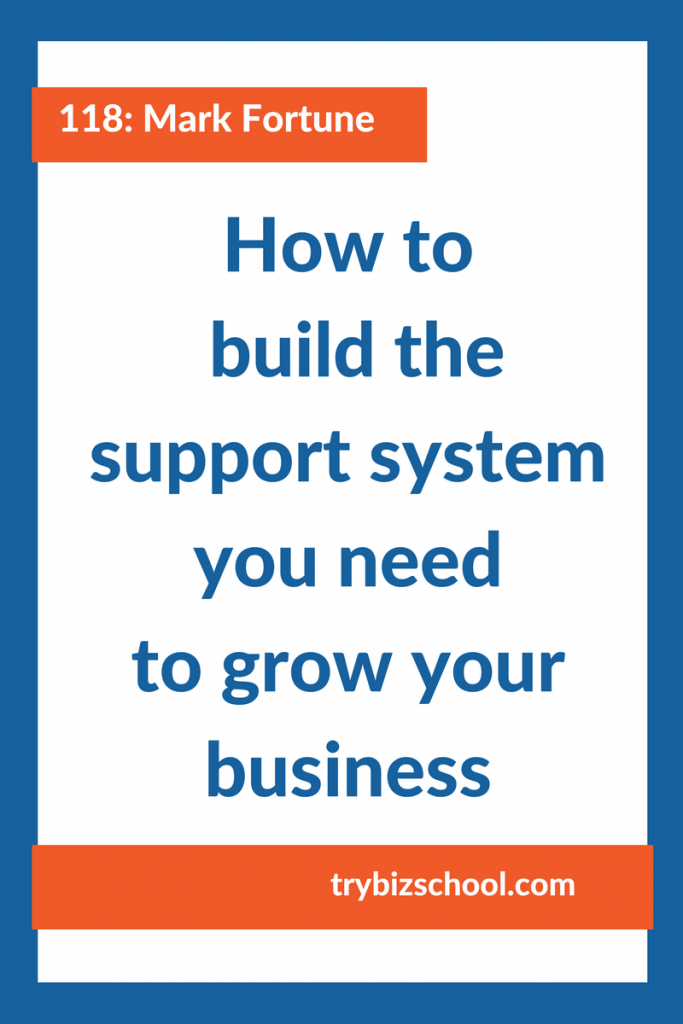 Entrepreneurs: Building a business can be a lonely road. That's why you need a support system as you build your business. Tune in to find out how to build one