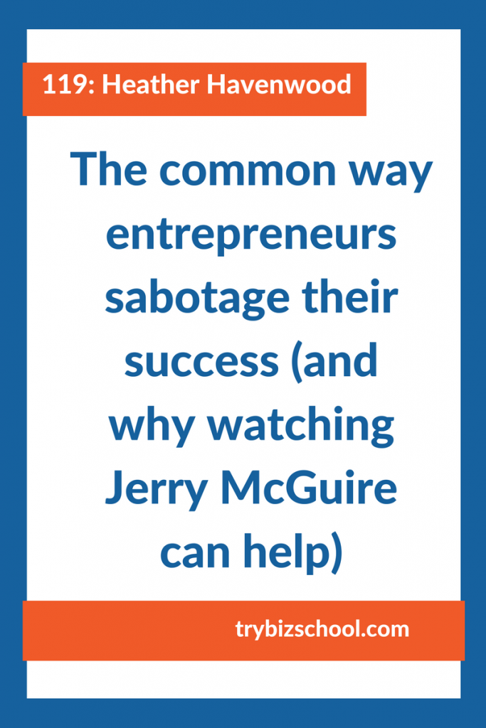 Entrepreneurs: Are you sabotaging your success? A lot of us tend to do it with a common practice we engage in that we think will protect us. But when you abandon this detrimental approach you'll start to see real changes in your business for the better.