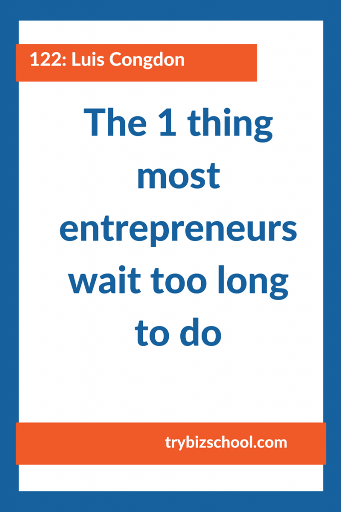 Entrepreneurs: I've heard this countless times. Doing this activity will give you more freedom in your business. It will help you grow. But most business owners wait far too long to do it. Don't let that be you.