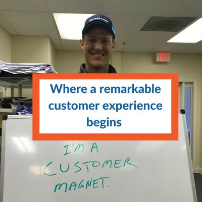 Brandon Bruce Customer Magnet photo