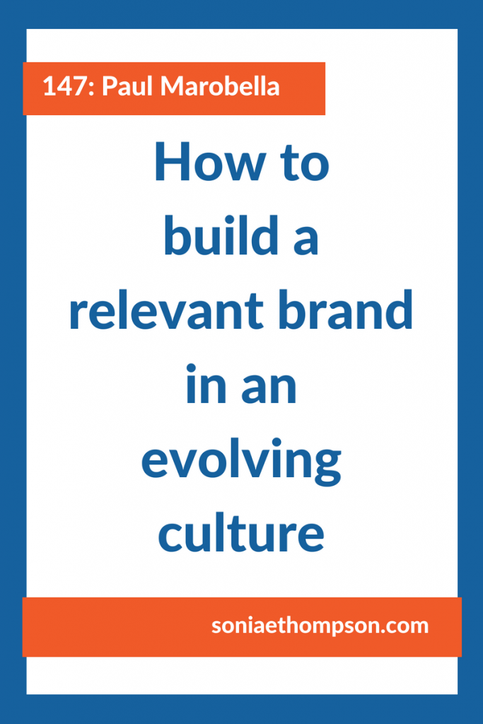 Culture is evolving rapidly. And often what worked yesterday won't work today. Tune in to find out how to build a brand that stays relevant to your customers over time, so you can stay top of mind with them.