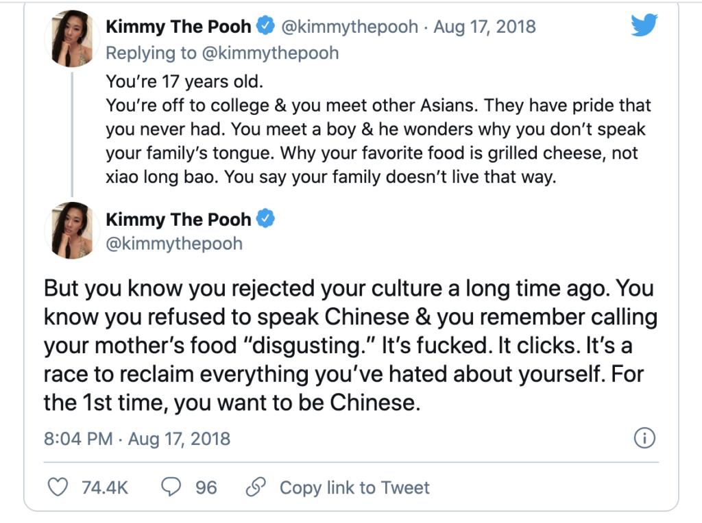 Crazy Rich Asians - response to representation 3